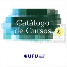 capa Catálogo de Cursos UFU 3ª edição